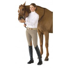 Ovation® EuroWeave™ Side-Zip Knee Patch Breech- Child's