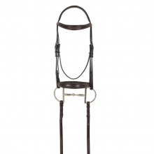 Ovation® ATS Square Raised Taper Nose Fancy Stitch Bridle