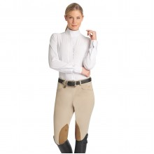 Ovation® EuroWeave DX™ TS Hunter Side Zip Breech- Ladies'