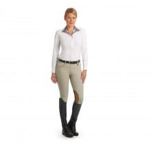 Ovation® Aqua-X™ Stretch Suede™ Knee Patch Breeches - Ladies'