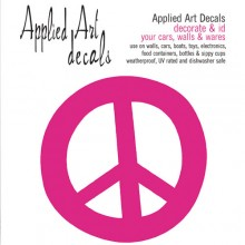 Decal-Peace Sign
