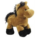 Curly Top Plush Horse