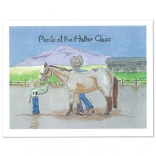 Note Cards-Perils of the Halter Class