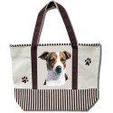 Canva Tote-Jack Russell