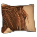 Pillow- Chestnut Horse