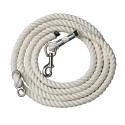 Perri's White Cotton Neck Rope