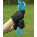 Perri's Adult Leather Glove With Spandex